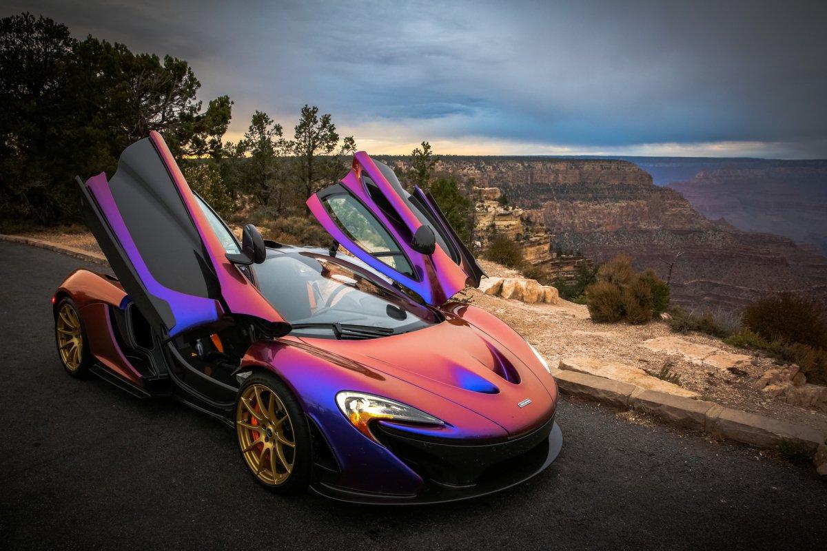 hypercars_McLaren P1, Grand Canyon by C.J. Wilson hypercars (3)