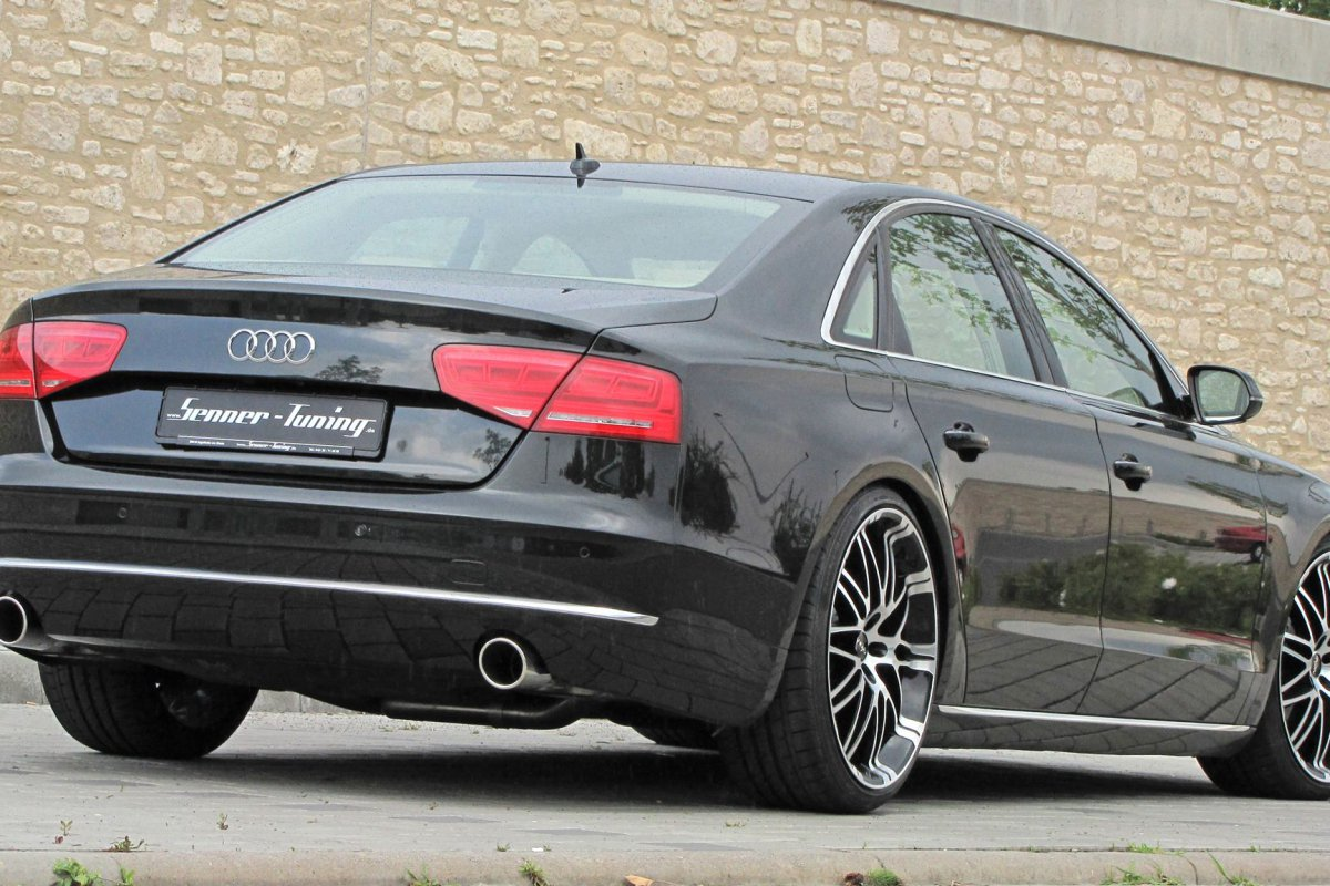 upgraded audi a8 4 2 v8 by senner tuning hypercars le. Black Bedroom Furniture Sets. Home Design Ideas