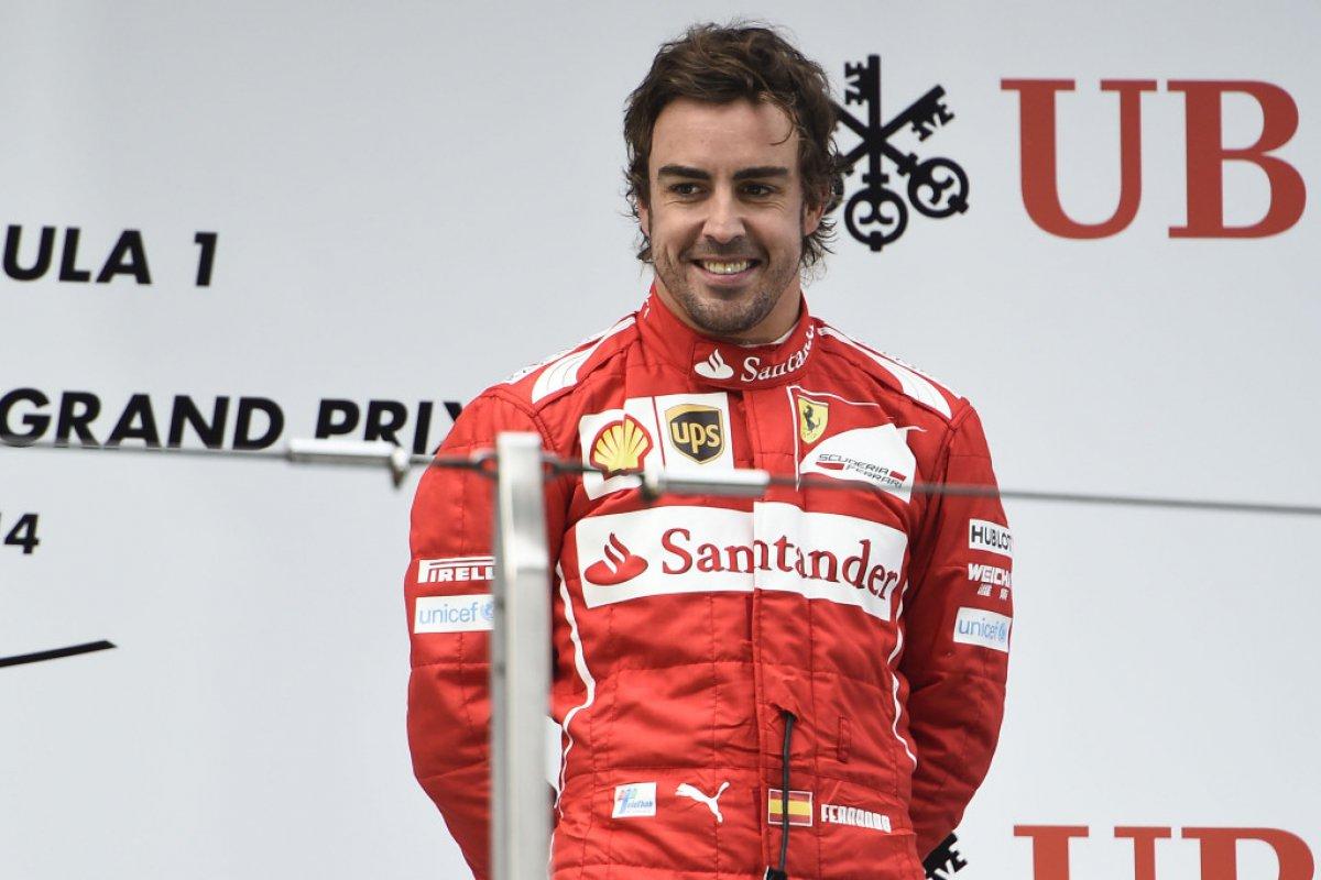 Fernando Alonso (Ferrari) : 22 millions d'euros (Espagnol, Champion 2005/2006, 4è en 2014)