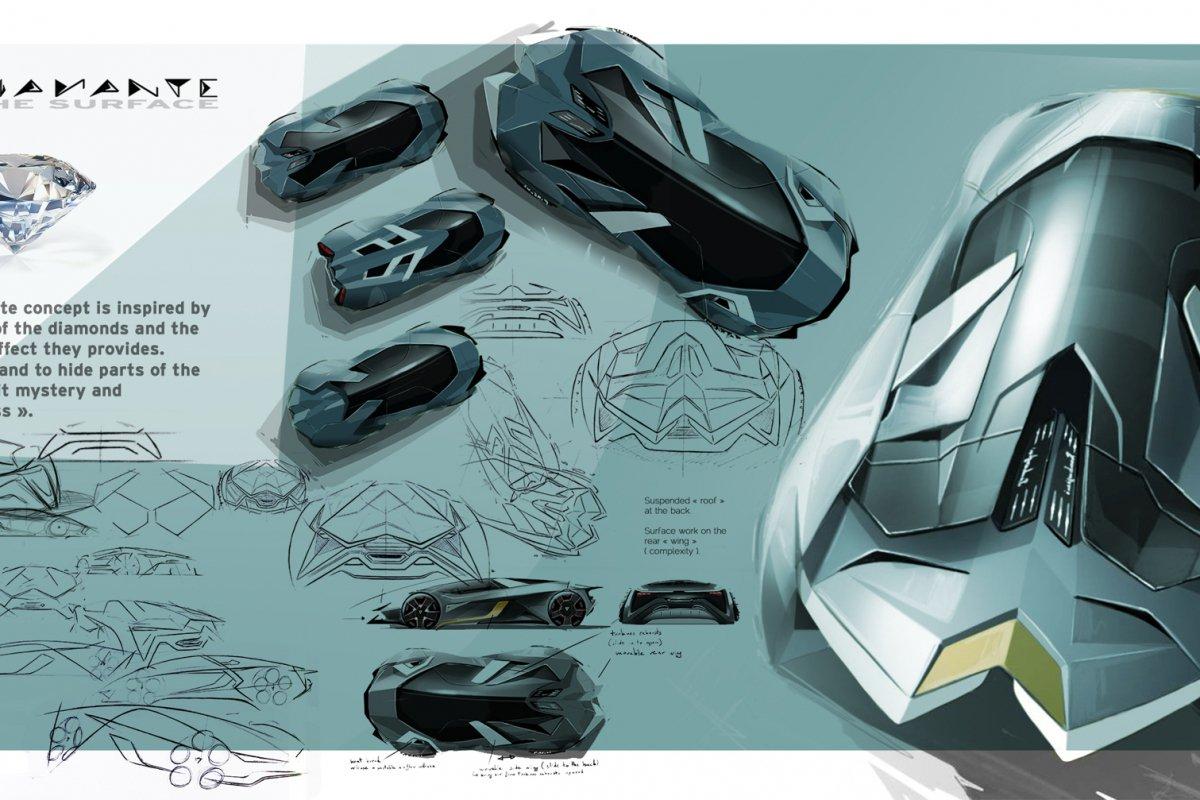 Lamborghini Diamante 2023 Concept by Thomas Granjard hypercars (12)