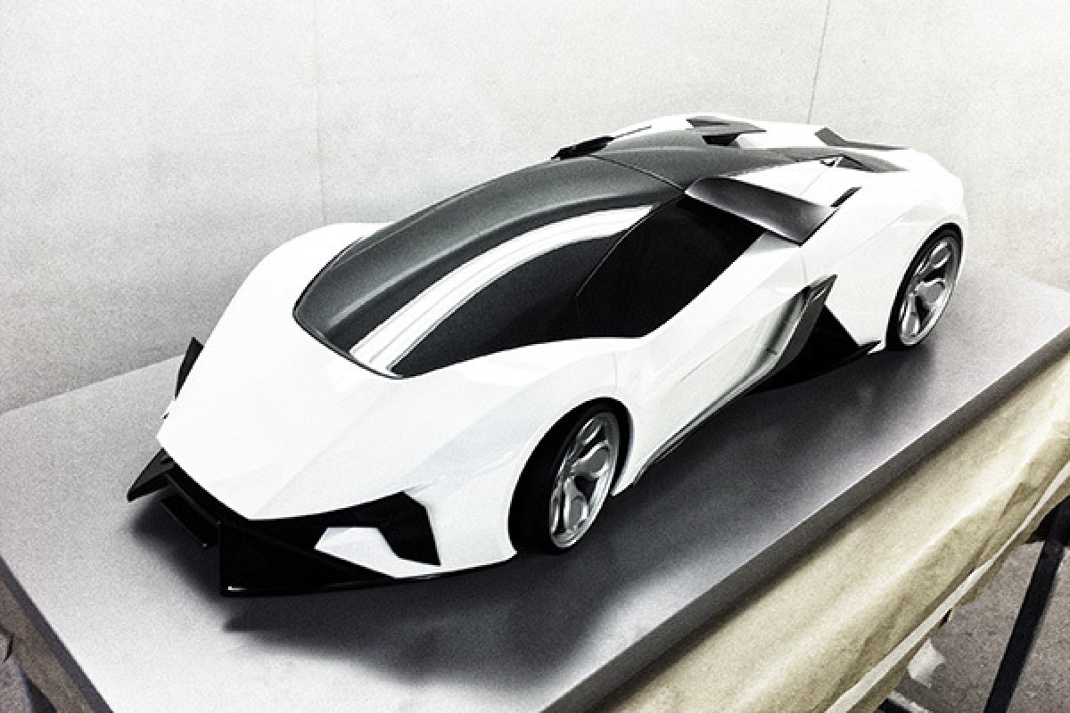 Lamborghini Diamante Concept By Thomas Granjard Hypercars