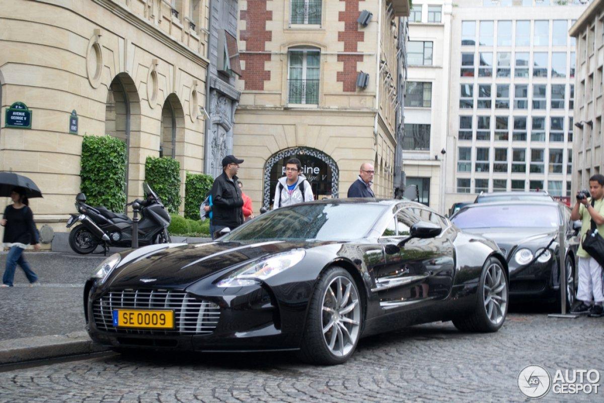 Samuel Eto'o - Aston Martin One-77 - www.hartvoorautos.nl