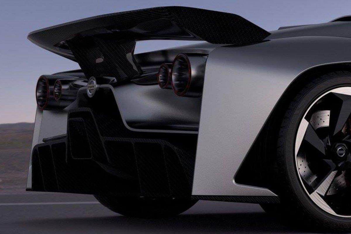 Nissan le concept 2020 Vision Gran Turismo dévoilé (vidéo) hypercars (5)