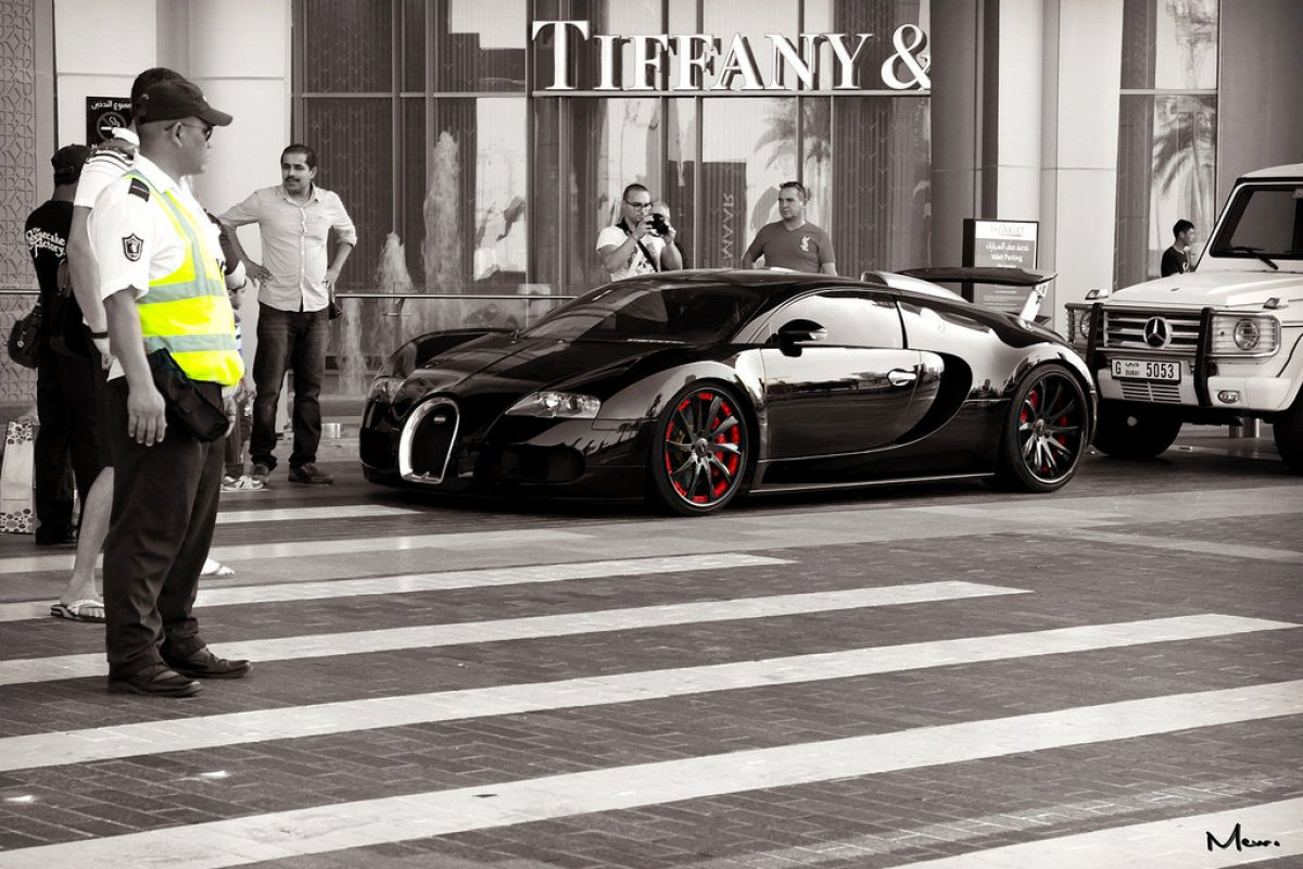 black bugatti veyron on mpc black wheels dubai. Black Bedroom Furniture Sets. Home Design Ideas