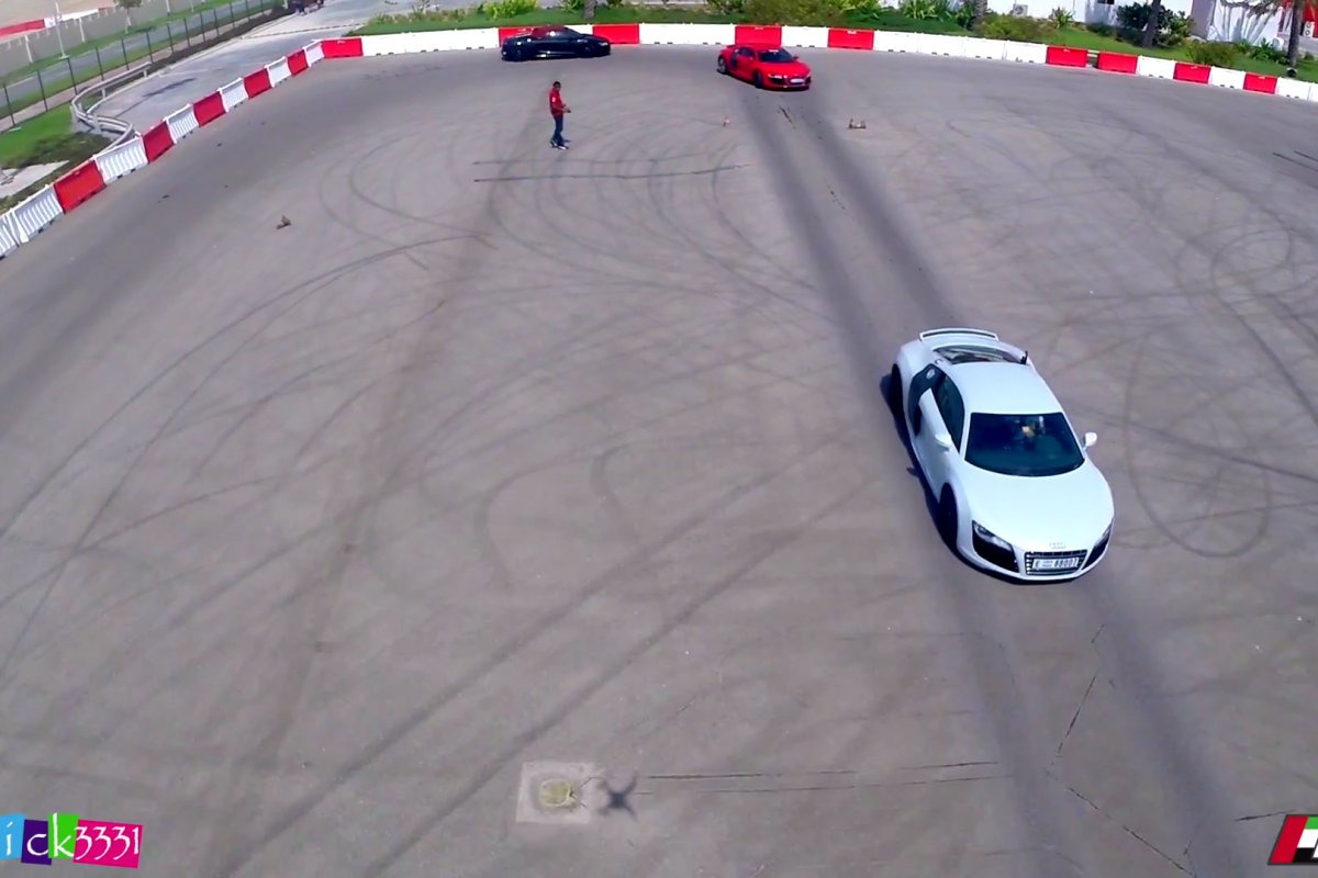 Video Audi R8 Club UAE Drift Event by Patrick3331 hypercars (1)