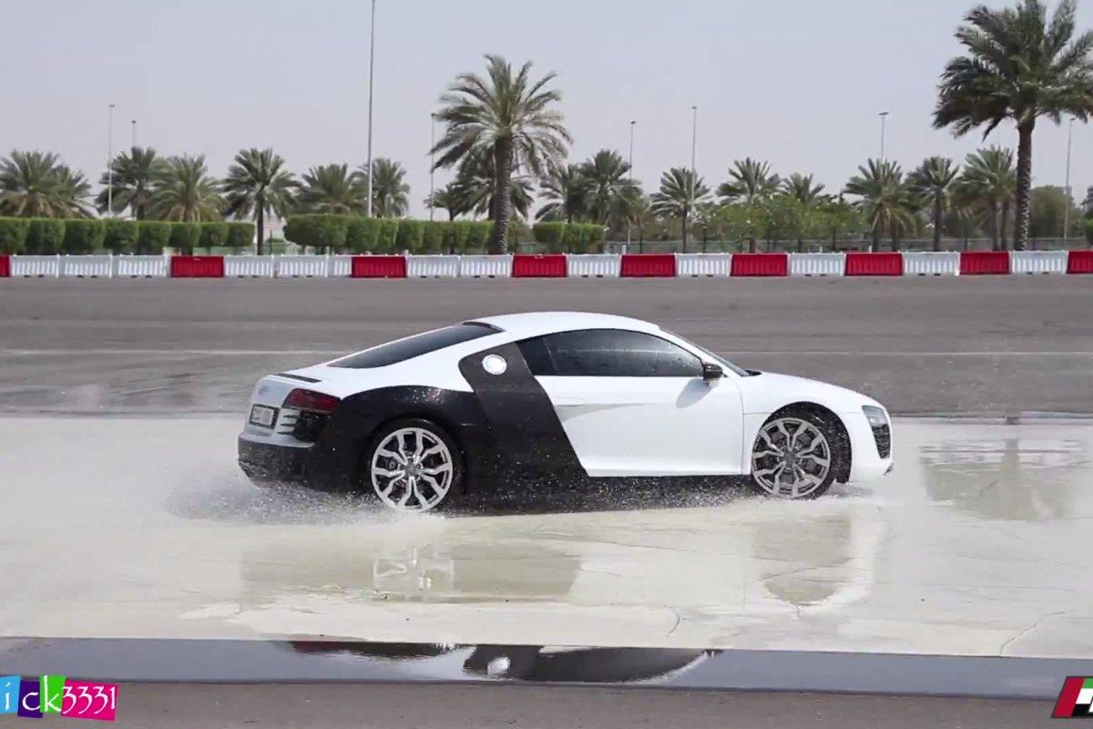 Video Audi R8 Club UAE Drift Event by Patrick3331 hypercars (3)