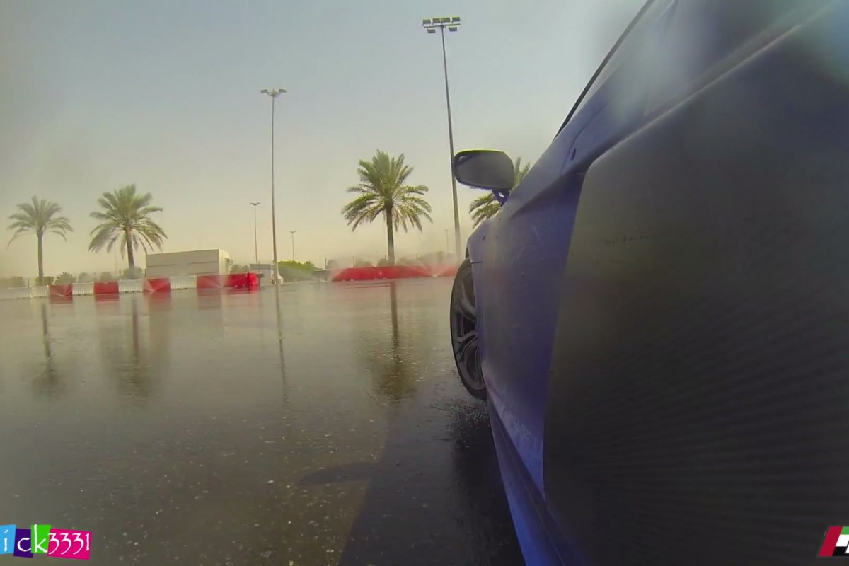 Video Audi R8 Club UAE Drift Event by Patrick3331 hypercars (4)