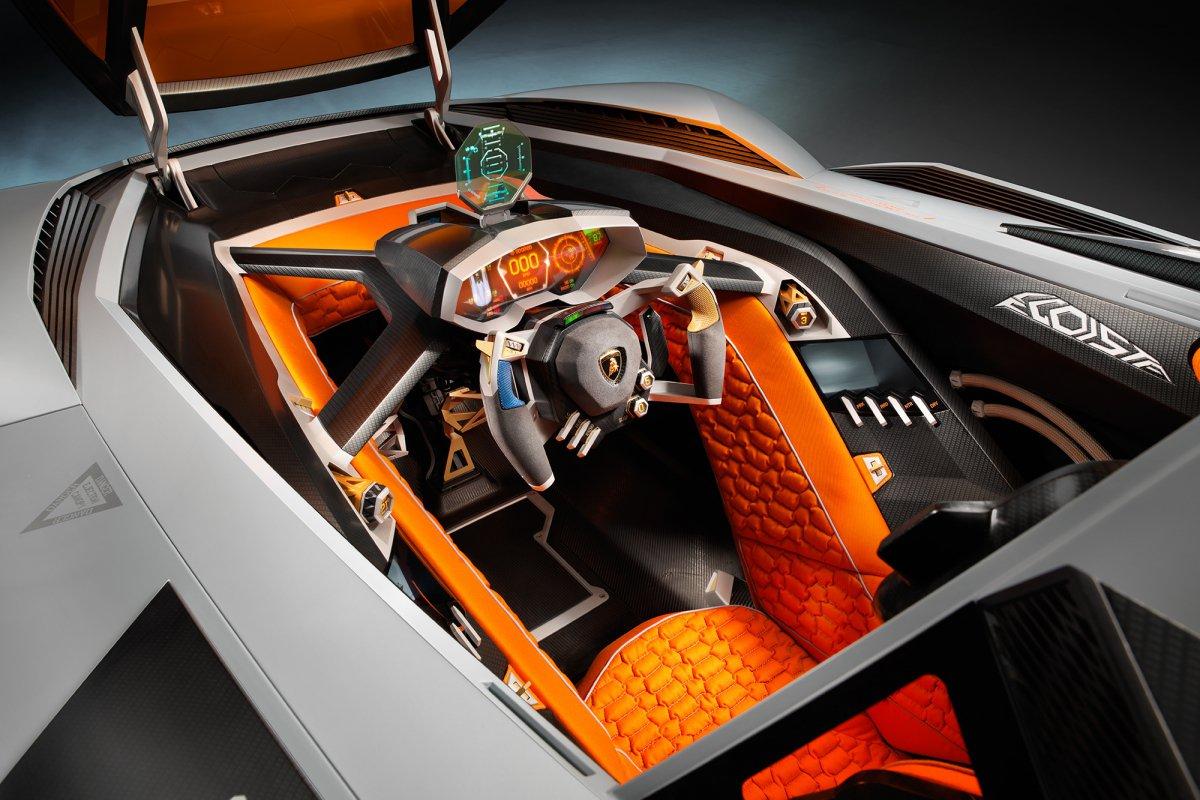 La Lamborghini Egoista fait son entrée au musée hypercars (9)