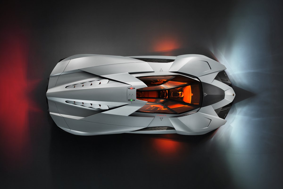 La Lamborghini Egoista fait son entrée au musée hypercars (7)