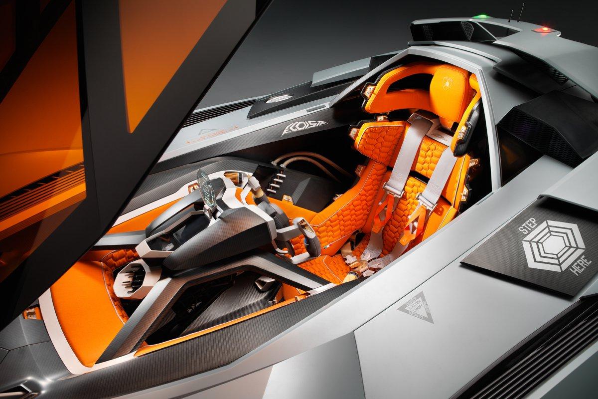 La Lamborghini Egoista fait son entrée au musée hypercars (8)