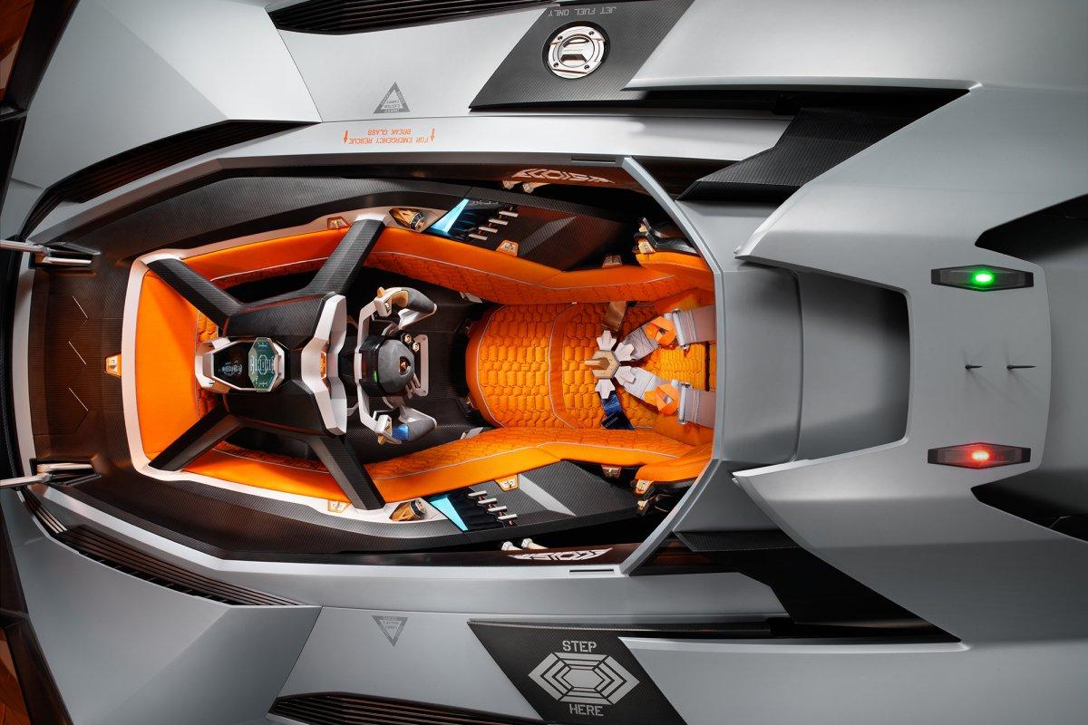 La Lamborghini Egoista fait son entrée au musée hypercars (10)