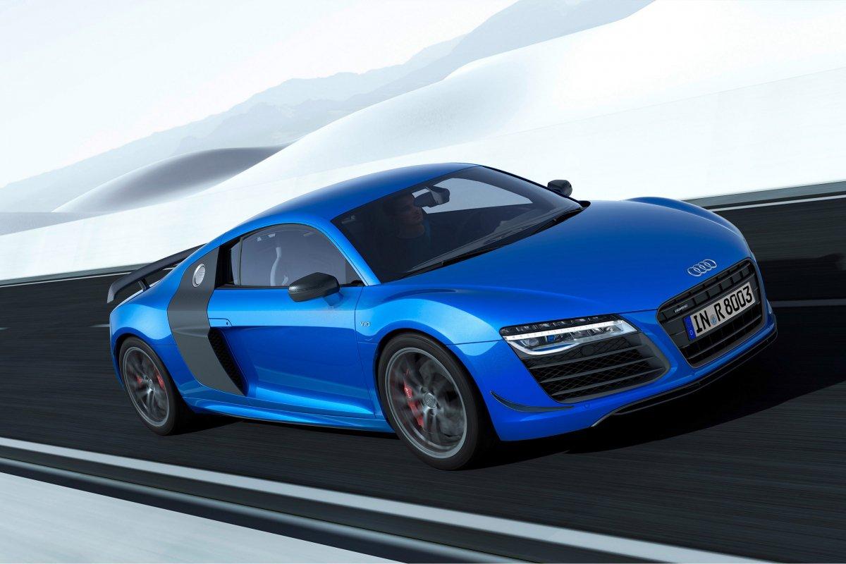 Audi, une nouvelle R8 LMX de 570 ch et équipée de phares laser hypercars (4)