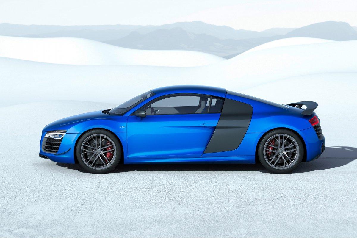 Audi, une nouvelle R8 LMX de 570 ch et équipée de phares laser hypercars (5)