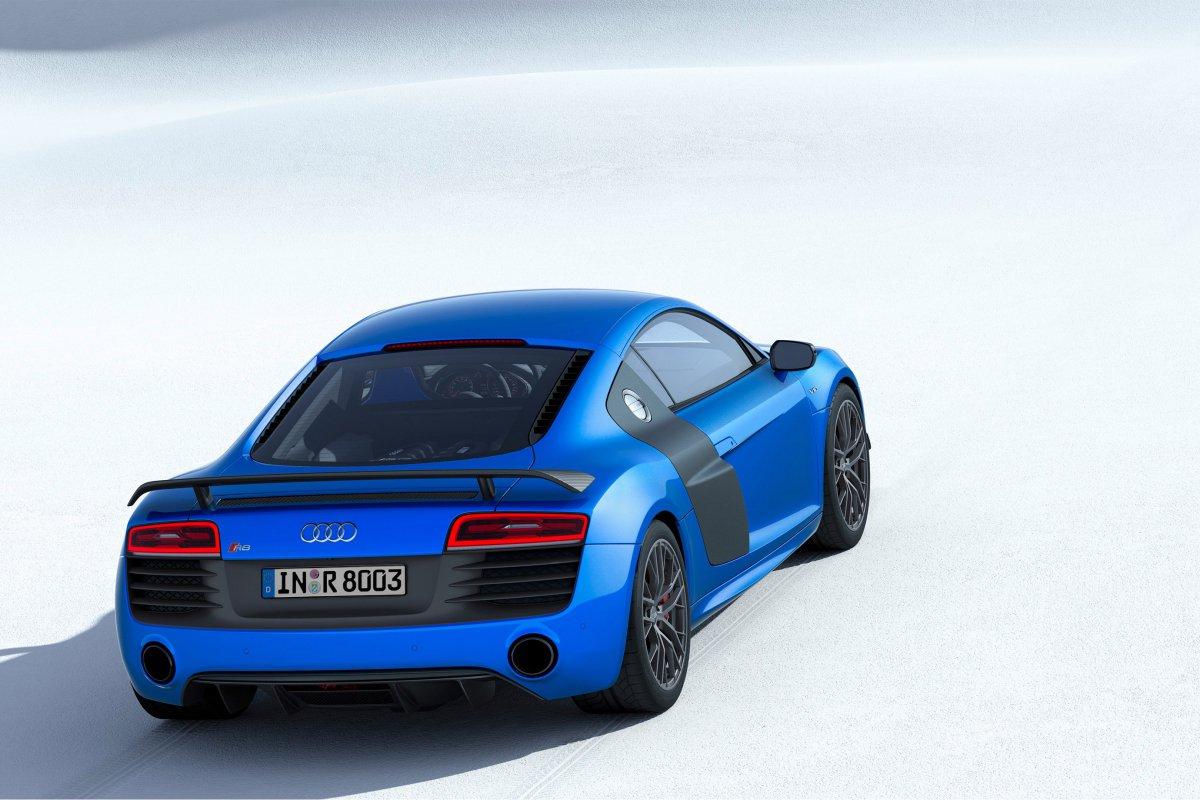 Audi, une nouvelle R8 LMX de 570 ch et équipée de phares laser hypercars (6)