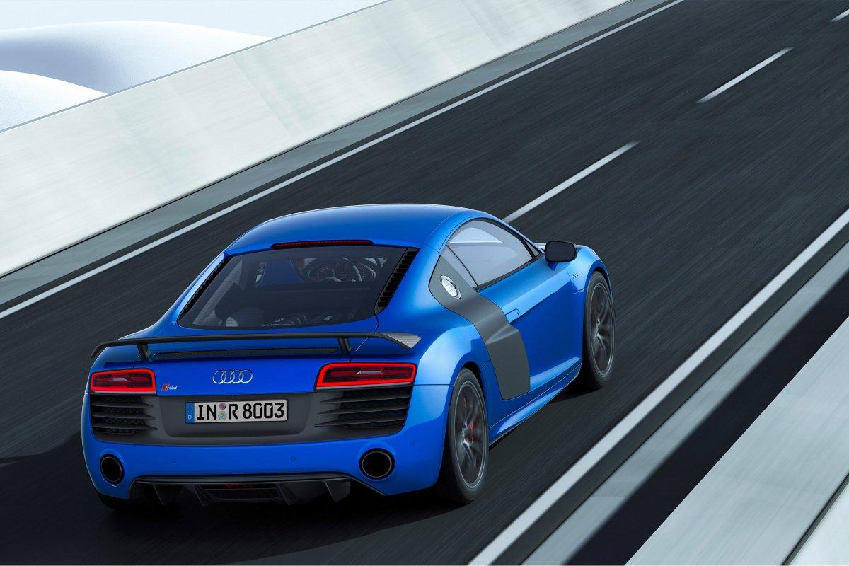Audi, une nouvelle R8 LMX de 570 ch et équipée de phares laser hypercars (7)
