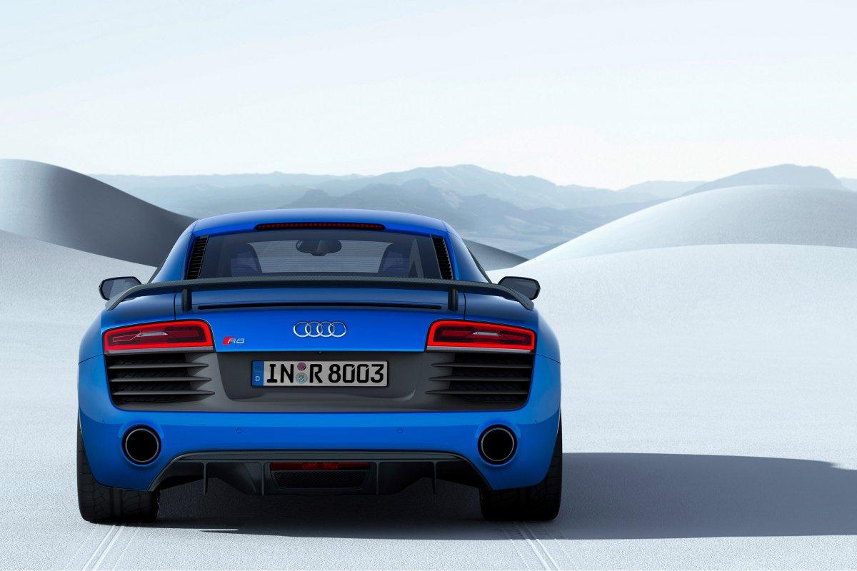 Audi, une nouvelle R8 LMX de 570 ch et équipée de phares laser hypercars (8)