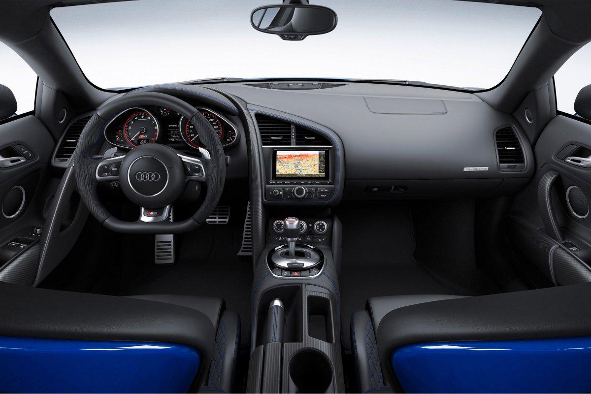 Audi, une nouvelle R8 LMX de 570 ch et équipée de phares laser hypercars (9)
