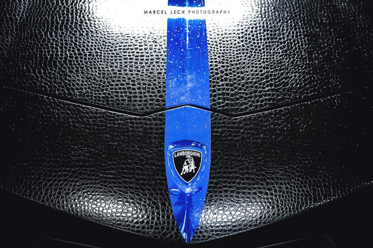 Chrome Blue Snake Skin AVENTADOR + 458 by Marcel Lech Photography hypercars  (12)