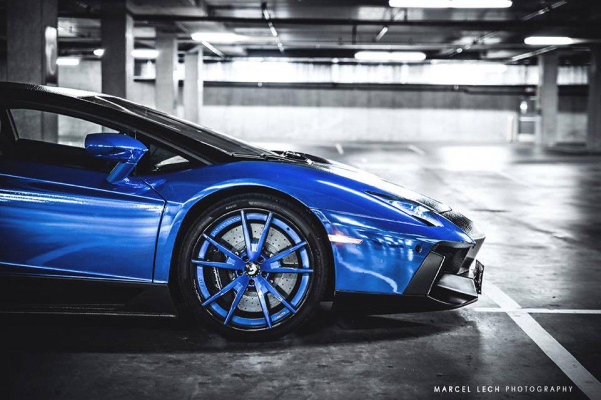 Chrome Blue Snake Skin AVENTADOR + 458 by Marcel Lech Photography hypercars  (13)