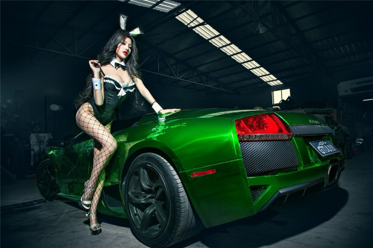 Chrome Green Lamborghini Murciélago LP640-4 Roadster hypercars  (1)