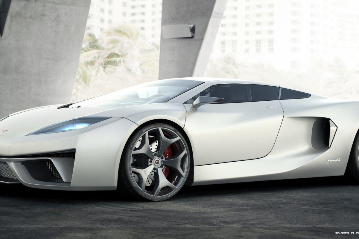 McLaren F1 Concept Car by Angelo Granata _ hypercars _  (2)