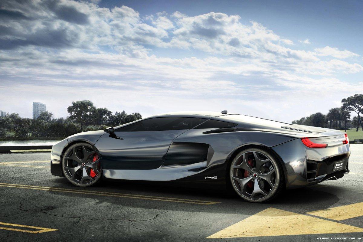 McLaren F1 Concept Car by Angelo Granata _ hypercars _  (3)