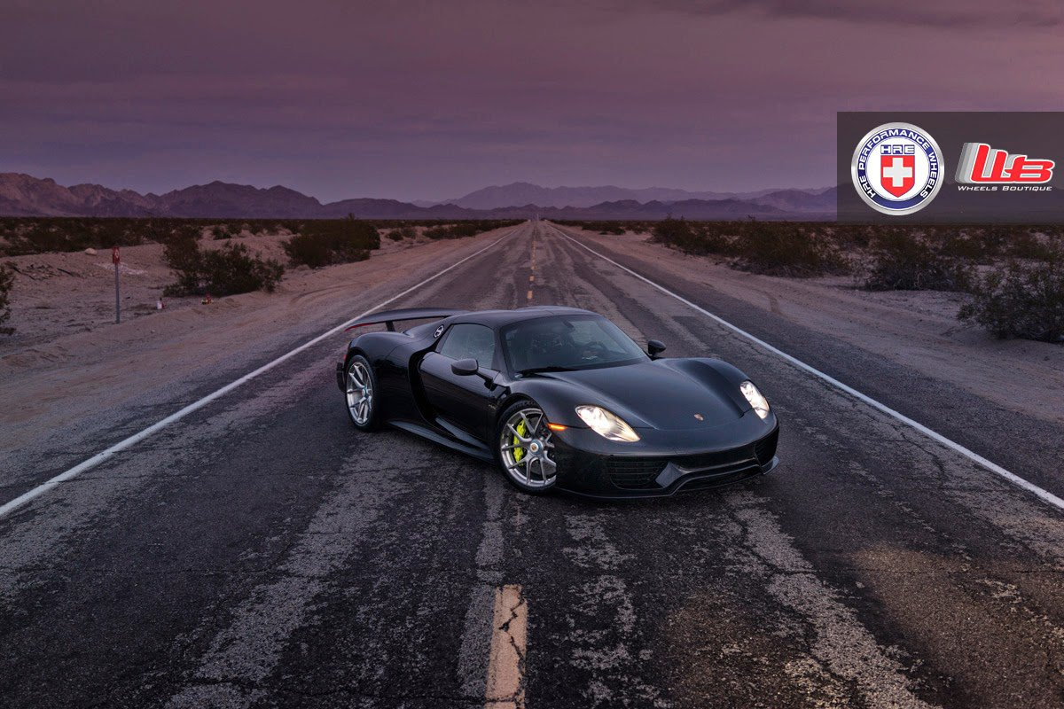 porsche 918 spyder by hre wheels hypercars le sommet de l 39 automobile. Black Bedroom Furniture Sets. Home Design Ideas