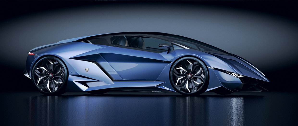 Lamborghini Concept Car Resonare By Paul Breshke Hypercars